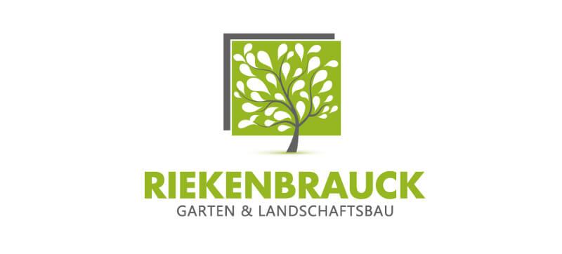Logo-Design Gartenbau Landschaftsbau Riekenbrauck 925728
