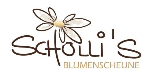 Scholli's Blumenscheune BLumenladen Logo