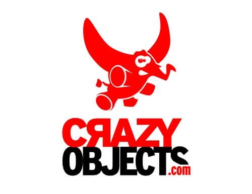 crazy_objects Elefant Maskottchen Design