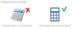 Die 5 Fakten des modernen Icon-Designs