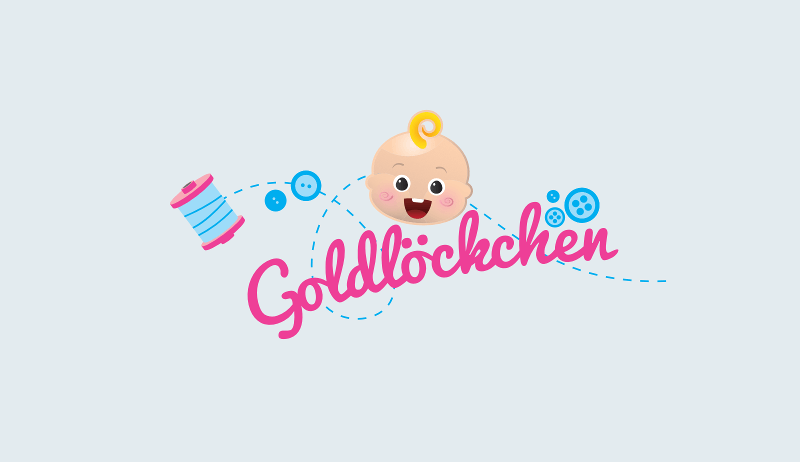 Goldlöckchen Logo Kinderkleidung 825881