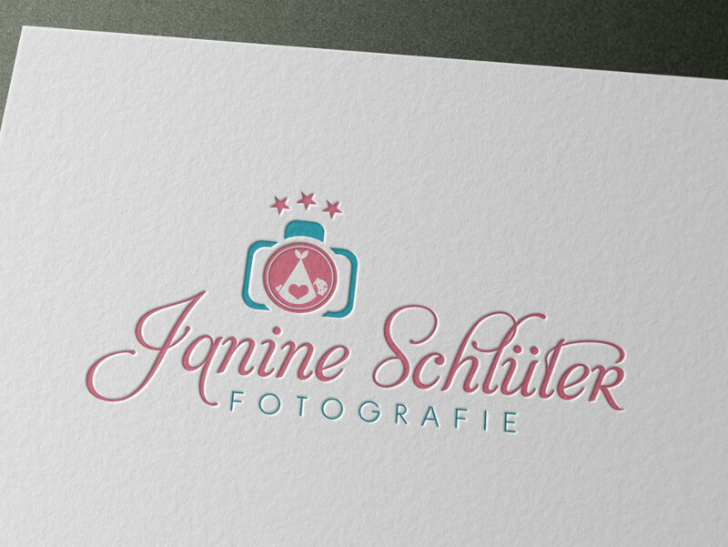 Janine Schüler Fotografie Babyservice Logo Design 748696