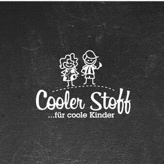 Kinderkleidung Cooler Stoff Logo 585652