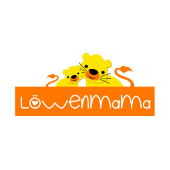 Löwenmama Kinderkleidung 247982 Logo Design