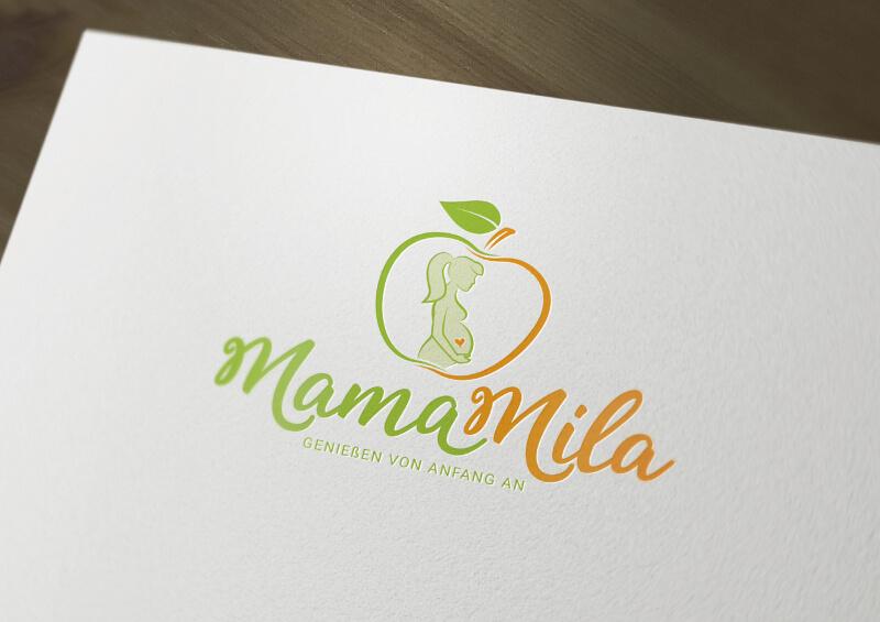 Logo Schwangerschaft Mama Mila 178669