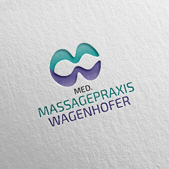 Massage Logo Design Massagepraxis Wagenhof