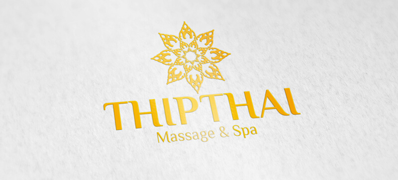Massage Logo Design Thipthai 423119