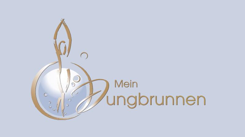 Mein Jungbrunnen Wellness Logo Design 274495