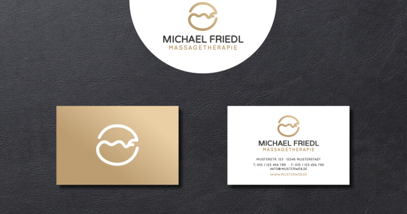 Michael Friedl Massagetherapie Logo Design Massage 578289