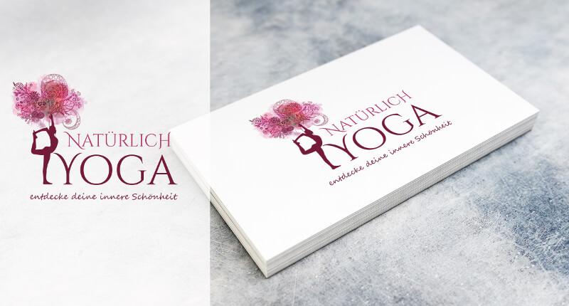 Natürlich Yoga Logo Design Yoga 714286