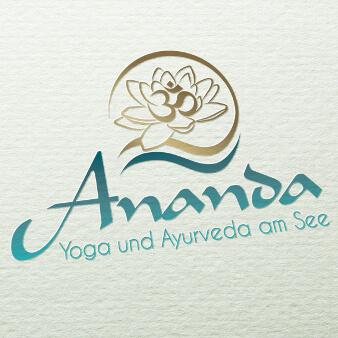 Yoga Logo Design Ananda Ayurveda 461984