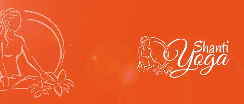 Yoga Logo Design Shanti Logo 816559