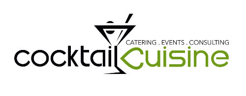 Cocktail Cuisine Logo-Design Cocktail Bar