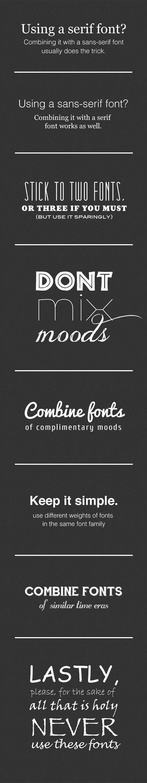 Logo Font Tipps
