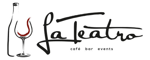 La Teatro Bar Logo Design