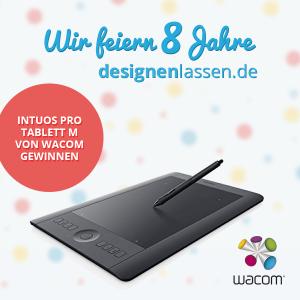 """8 Jahre designenlassen.de – und wir sagen """"Danke""""!"""