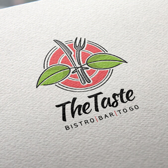 Bar Logo-Designs The Taste 224651