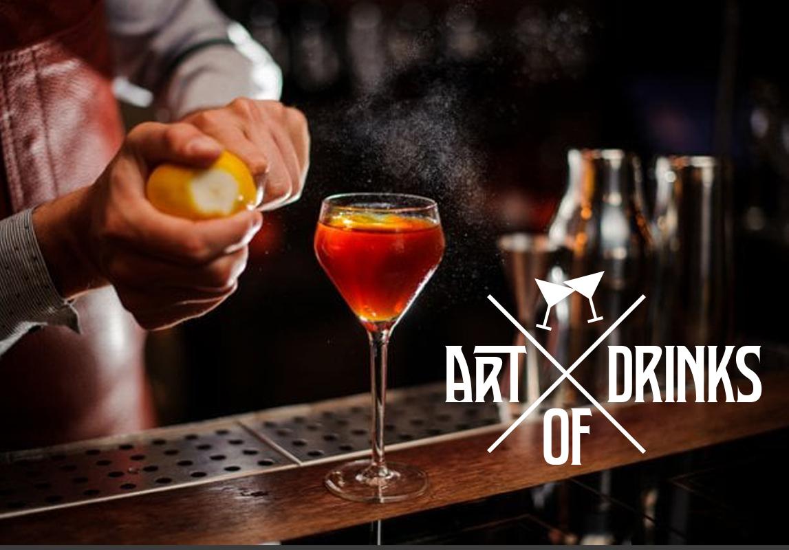 Bar Logo Beispiel Cocktailbar Art of drinks
