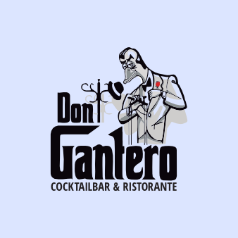 Don Gantero Bar Logo Designs 169776