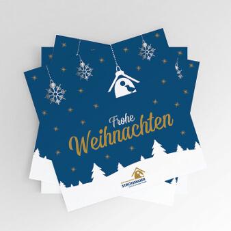 Frohe Weihnachten Weihnachtskarten Design