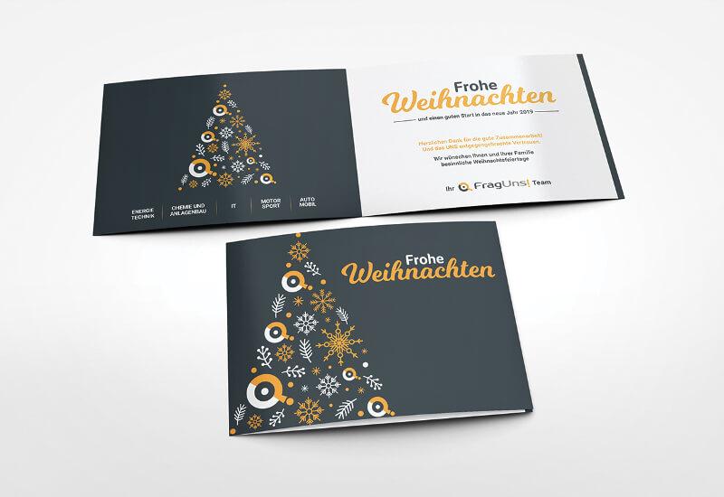 Frohe Weihnachten Weihnachtskarten gestalten
