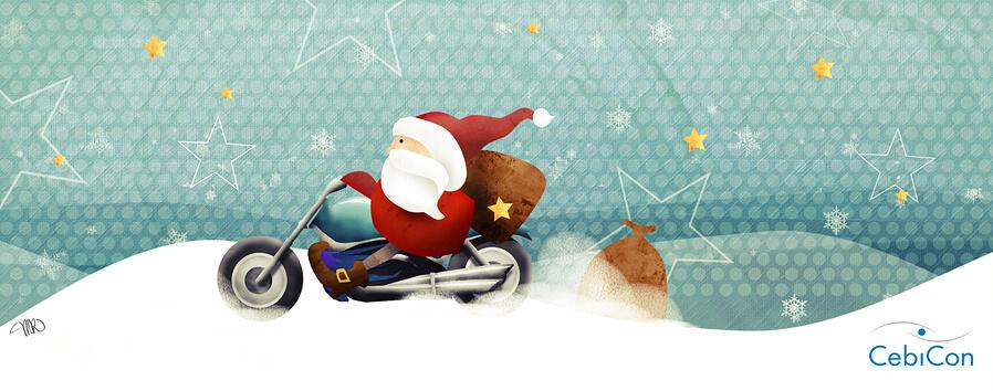 Illustration Weihnachten Weihnachtsmann