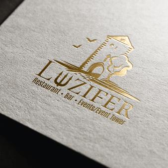 Luziferturm Bar Logo-Designs 976416