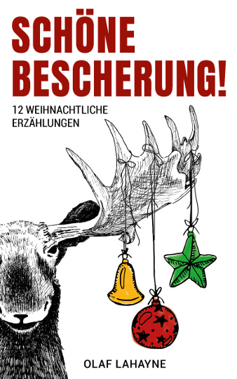 Weihnachten Buch Cover Design Schöne Bescherung