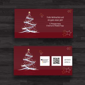 edle weihnachtskarten designs