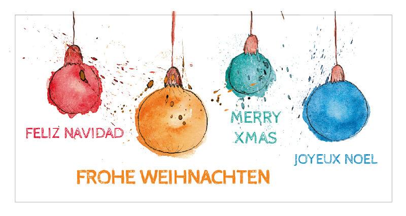 Kreative Weihnachtsgrüße Geschäftlich.72 Weihnachtskarten Designs Mit Denen Du Bei Deinen