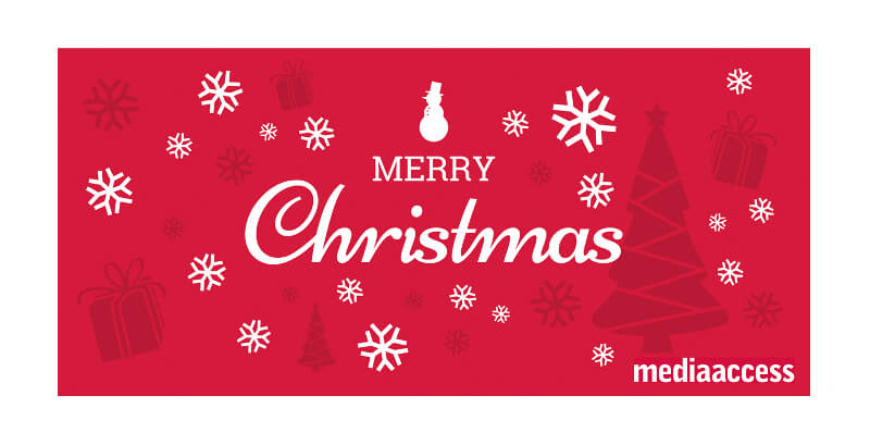 merry christmas weihnachtskarten design geschäftlich