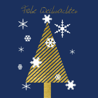 weihnachtskarte design tannenbaum