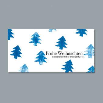 weihnachtskarten design firmen tannenbaum