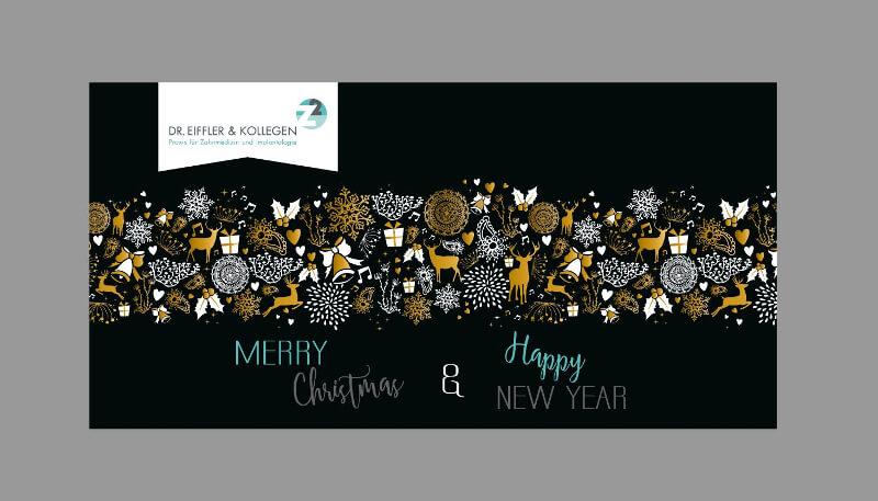 weihnachtskarten design kreativ
