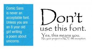 Was macht einen guten Font aus?