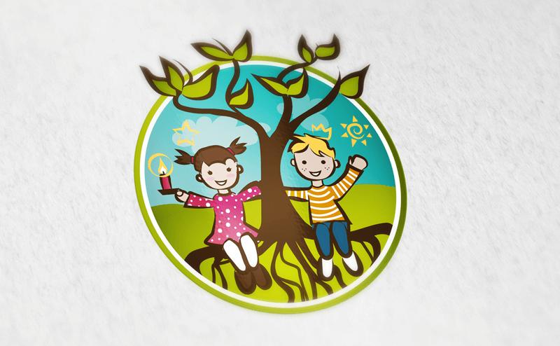 Kindergarten Logos Haucher Wurzelkinder 296256