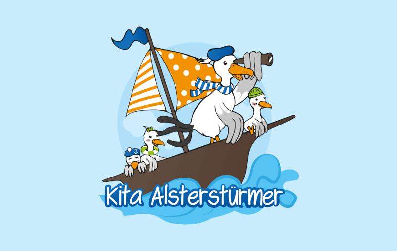 Kita Logo Designs Kita Alsterstürmer 871551