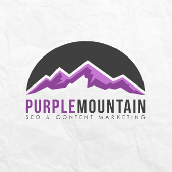 Content Marketing Agentur Logo Purple Mountain