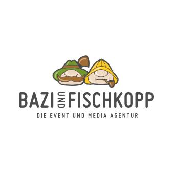 Eventagentur Logo Medienagentur Bazi und Fischkopp