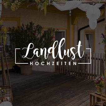 Hochzeitsagentur Logo Design Landlust