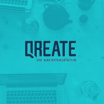 Kreativagentur Logo Qreate
