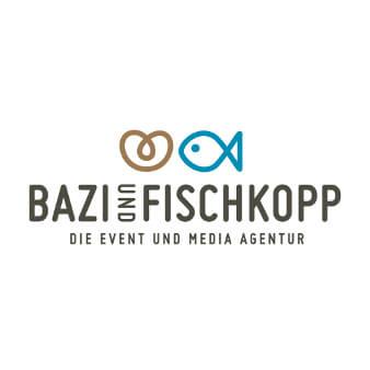 Mediaagentur Logo Eventagentur Bazi und Fischkopp