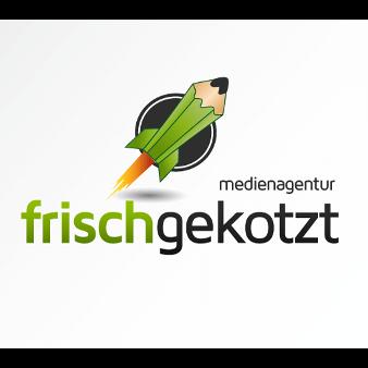 Medienagentur Frischgekotzt Logo Design