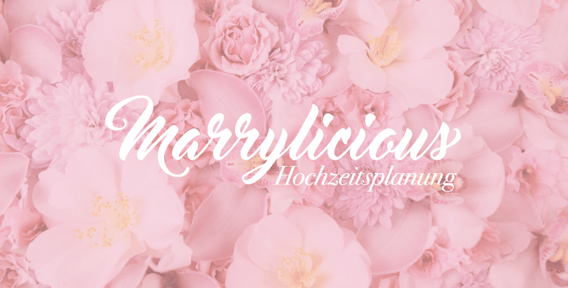 Weddingagentur Logo Marrylicious