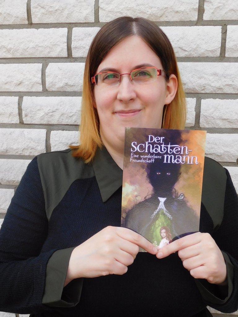 eBook-Cover-Design von Autorin Jasmin Bornemann, der Schattenmann