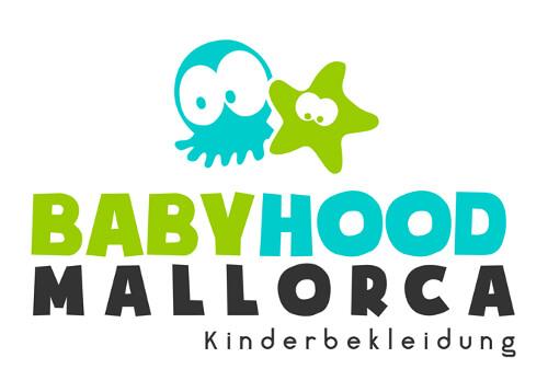 Babyhood Mallorca Kinderbekleidung Online Shop Logo Design