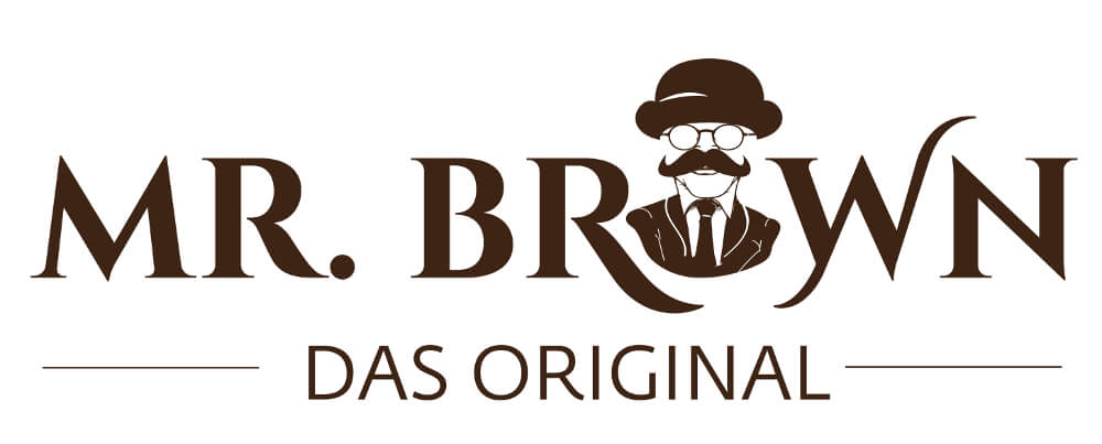 Mr. Brows Original Logo Design Lebensmittel