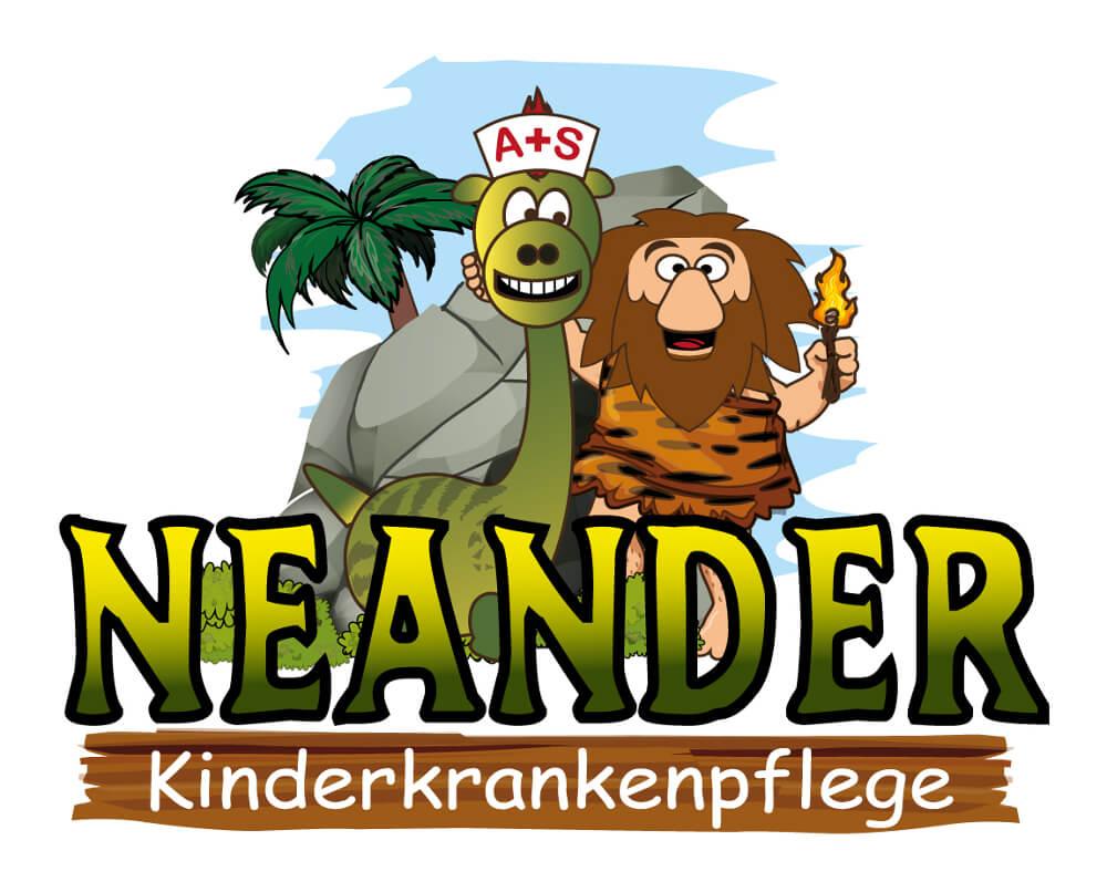 Kinderpflege Neander Logo Design Krankenpflege
