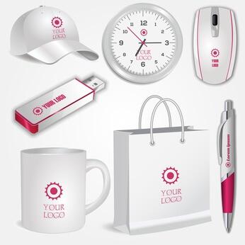 Merchandise Design, Merchandising, Tasse Design, USB-Stick Design, Cap-Design