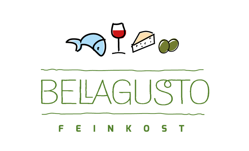 Bellagusto Feinkost Logo Design Online Shop Essen